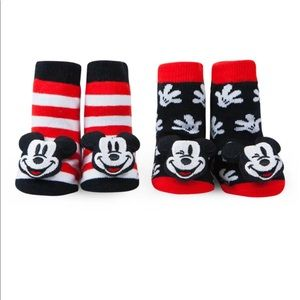 Disney Mickey 2-Pack Rattle Socks